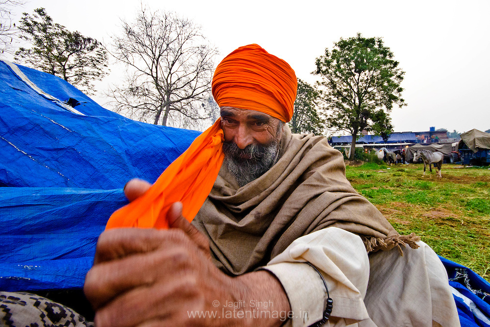 Special attention is given to the turban.