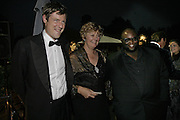 Zac Goldsmith, Sara Lom and Ade, Party Belle Epoque hosted by The Royal Parks Foundation and Champagne Perrier Jouet. The Grand Spiegeltent, the Lido Lawns. Hyde Park. London. 14 September 2006. ONE TIME USE ONLY - DO NOT ARCHIVE  © Copyright Photograph by Dafydd Jones 66 Stockwell Park Rd. London SW9 0DA Tel 020 7733 0108 www.dafjones.com