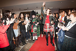 Miss Scotland Jennifer Reochs shows the group of contestants how to dance at Crieff Hydro..MISS WORLD 2011 VISITS SCOTLAND..Pic © Michael Schofield.