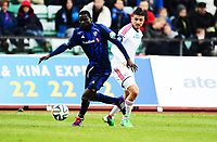 Fotball , 5. mai 2014 , Eliteserien , Tippeligaen<br /> Stabæk - Vålerenga 0-3<br /> Diego Calvo Fonseca , VIF<br /> Enock Kofi Adu , Stabæk