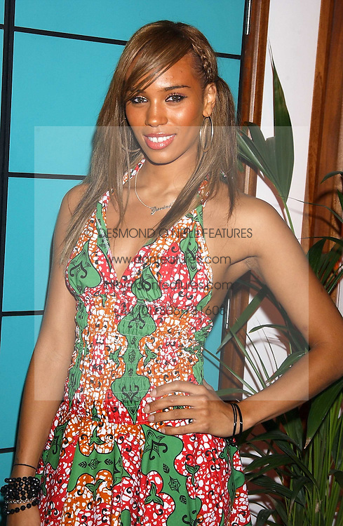 Singer JAVINE HYLTON at a party for the relaunch of Pizza on The Park, 11 Knightsbridge, London on 20th October 2005.<br />