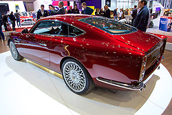 GENEVA, SWITZERLAND - Tuesday, March 7, 2017: David Brown Automotive with the Speedback GT at the 87th Geneva International Motor Show at the Palexpo. (Pic by David Rawcliffe/Propaganda)