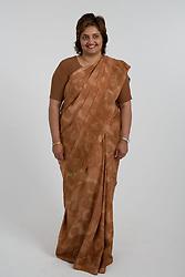 Woman wearing a traditional Sari,