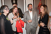 PHILLIPPA PERRY; VIOLA FORT; KEITH TYSON; HEATHER KERZNER, Opening of Bailey's Stardust - Exhibition - National Portrait Gallery London. 3 February 2014