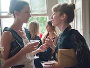Margot Stilley; Anoushka Beckwith;, Elizabeth Arden.-100th anniversary party. 33 Fitzroy Square, London W1, 29 June 2010. DO NOT ARCHIVE-© Copyright Photograph by Dafydd Jones. 248 Clapham Rd. London SW9 0PZ. Tel 0207 820 0771. www.dafjones.com.