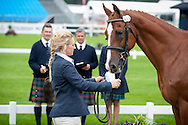Holly Woodhead - First Horse Inspection - Longines FEI European Eventing Championships - Blair Castle, Scotland - 09 September 2015