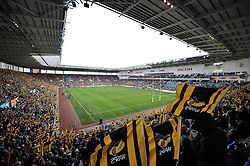 A general view of Wasps' new home the Ricoh Arena, during the first half - Photo mandatory by-line: Patrick Khachfe/JMP - Mobile: 07966 386802 21/12/2014 - SPORT - RUGBY UNION - Coventry - Ricoh Arena - Wasps v London Irish - Aviva Premiership