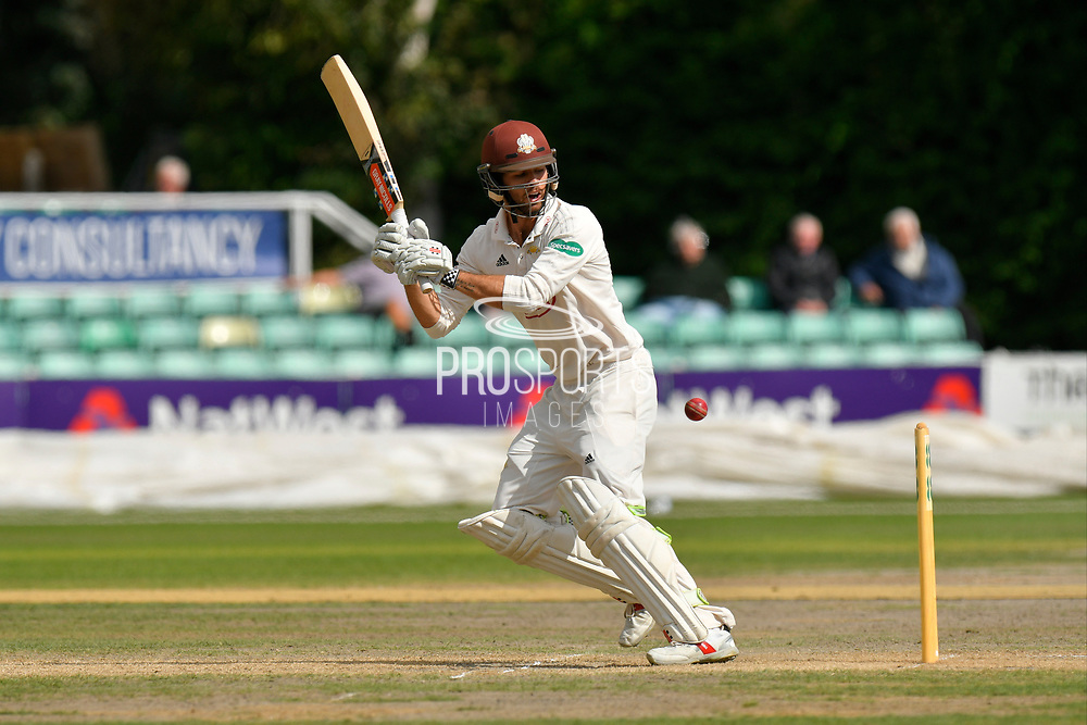 Ben Foakes of Surrey batting during the final day of the Specsavers County Champ Div 1 match between Worcestershire County Cricket Club and Surrey County Cricket Club at New Road, Worcester, United Kingdom on 13 September 2018.