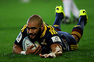 Dunedin-Rugby, Highlanders V Chiefs 27 June 2014