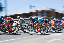 Sofia Bertizzolo (ITA) of Astana Women Cycling Team accelerates out of a corner on Stage 3 of the Amgen Tour of California - a 70 km road race, starting and finishing in Sacramento on May 19, 2018, in California, United States. (Photo by Balint Hamvas/Velofocus.com)