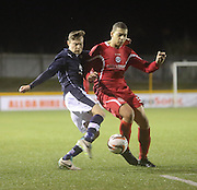 Nicky Riley - East Stirling v  Dundee, SPFL reserve league at <br /> Recreation Park<br /> <br />  - &copy; David Young - www.davidyoungphoto.co.uk - email: davidyoungphoto@gmail.com