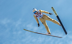 28.01.2017, Casino Arena, Seefeld, AUT, FIS Weltcup Nordische Kombination, Seefeld Triple, Skisprung, im Bild Samuel Costa (ITA) // Samuel Costa of Italy in action during his Competition Jump of Skijumping of the FIS Nordic Combined World Cup Seefeld Triple at the Casino Arena in Seefeld, Austria on 2017/01/28. EXPA Pictures © 2017, PhotoCredit: EXPA/ JFK
