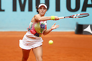 Louisa Chirico during the Madrid Open at Manzanares Park Tennis Centre, Madrid<br /> Picture by EXPA Pictures/Focus Images Ltd 07814482222<br /> 05/05/2016<br /> ***UK &amp; IRELAND ONLY***<br /> EXPA-ESP-160505-0069.jpg