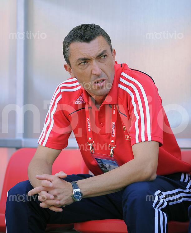 Fussball Frauen FIFA U 20  Weltmeisterschaft 2008     19.11.2008 Frankreich - USA FRA Trainer Stephane Pilard