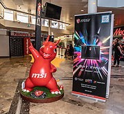Media Markt, Utrecht. MSI Game Event.