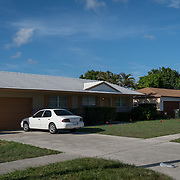 JUNE 25, 2017--DELRAY BEACH, FLORIDA<br /> Halfway house in Delray Beach where  ​Peter San Angelo, 28, was living prior to his death from an opioid drug overdose on October of 2016. San Angelo was found dead inside a van in a house's driveway not far from here.  <br /> (Photo by Angel Valentin/Freelance)
