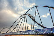 Germany, Europa Park, 20 mn to Freiburg is partially powered by solar energy