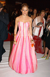 SIENNA MILLER at the Moet & Chandon Fashion Tribute 2005 to Matthew Williamson, held at Old Billingsgate, City of London on 16th February 2005.<br /><br />NON EXCLUSIVE - WORLD RIGHTS