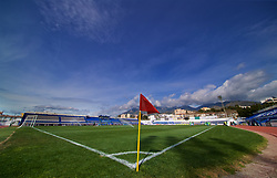 MARBELLA, SPAIN - Tuesday, March 5, 2019: A general view of the Estadio Municipal de Marbella before an international friendly match between Wales and Republic of Ireland. (Pic by David Rawcliffe/Propaganda)