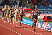 Sifan HASSAN of the Netherlands, winner of the Women's 1500m during the Muller Grand Prix 2018 at Alexander Stadium, Birmingham, United Kingdom on 18 August 2018. Picture by Toyin