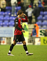 Photo: Paul Greenwood/Sportsbeat Images.<br />Wigan Athletic v Blackburn Rovers. The FA Barclays Premiership. 15/12/2007.<br />Blackburn's Morten Gamst Pedersen after the game.