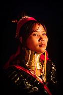 long neck karen chiang mai thailand loy loi krathong