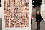 Europe, Germany, Cologne, the art exhibition Art Cologne at the exhibition centre in the town district Deutz, photograph &quot;Schrei&quot; by Herlinde Koelbl.<br /> <br /> Europa, Deutschland, Koeln, Kunstmesse Art Cologne in den Deutzer Messehallen, die Fotoarbeit &quot;Schrei&quot; von Herlinde Koelbl. ***HINWEIS ZU DEN ABGEBILDETEN KUNSTWERKEN - RECHTE DRITTER SIND VOM NUTZER ZU KLAEREN*** ***PLEASE NOTE: THIRD PARTY RIGHTS OF THE SHOWN WORK OF ART MUST BE CHECKED BY THE USER***