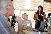 ROI Communication, Inc. hosts its All Team Meeting at the Quadrus Conference Center in Menlo Park, California, on April 16, 2015. (Stan Olszewski/SOSKIphoto)