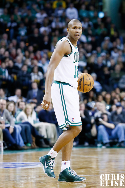 27 January 2013: Boston Celtics shooting guard Leandro Barbosa (12) is seen during the Boston Celtics 100-98  2OT victory over the Miami Heat at the TD Garden, Boston, Massachusetts, USA.