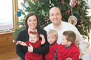 The Berwald family is photographed December 30, 2016 in Yardley, Pennsylvania. (Photo by William Thomas Cain/Cain Images)