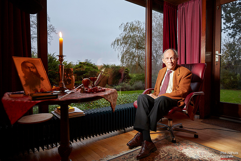 Wassenaar, 18 november 2014 - Dhr Johan Witteveen (93) (vader van Willem Witteveen)<br /> Foto: Phil Nijhuis