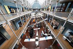 Interior of National Museum of Scotland, Edinburgh, Scotland, UK