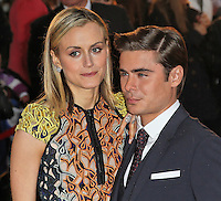 LONDON - APRIL 23: Taylor Schilling; Zac Efron attend the European Film Premiere of 'The Lucky One' at The Bluebird Restaurant & Bar, King's Road, Chelsea, London, UK. April 23, 2012. (Photo by Richard Goldschmidt)