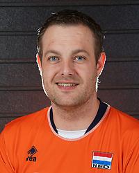 07-10-2017 NED: Portret zitvolleybalteam Oranje mannen 2017-2018, Doorn<br /> Nederland bereidt zich voor op het komende EK zitvolleybal / Loek Hendrix