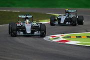 September 3-5, 2015 - Italian Grand Prix at Monza: Lewis Hamilton (GBR), Mercedes, Nico Rosberg  (GER), Mercedes