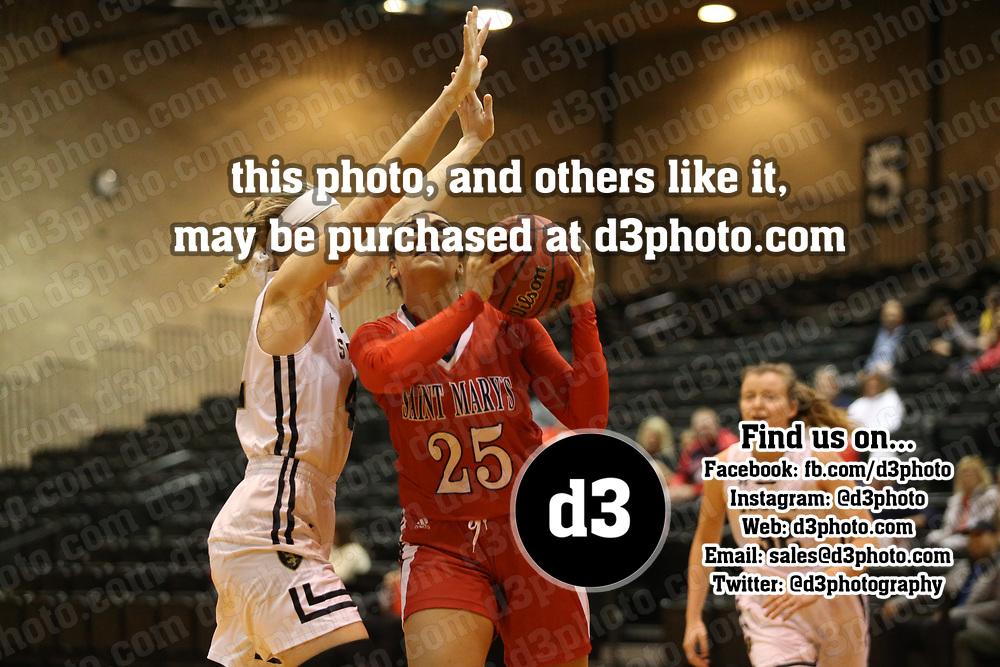 Women's Basketball: St. Olaf College Oles vs. Saint Mary's University of Minnesota Cardinals