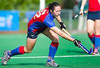 BILTHOVEN - Lisa Jacob van SCHC , zondag tijdens de hoofdklasse competitiewedstrijd tussen de vrouwen van SCHC en MOP (5-0). COPYRIGHT KOEN SUYK