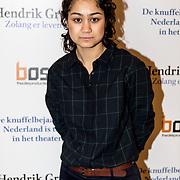NLD/Amsterdam/20191211 - Hendrik Groen-voorstelling in premiere, Soumaya Ahouaoui