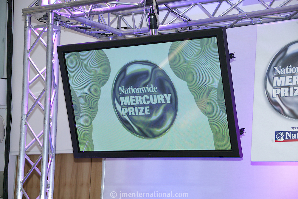 Nationwide Mercury Prize Launch 2005, Commonwealth Club, London