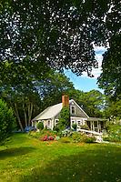 Cape Cod style house, Orleans, Cape Cod, Massachusetts, USA