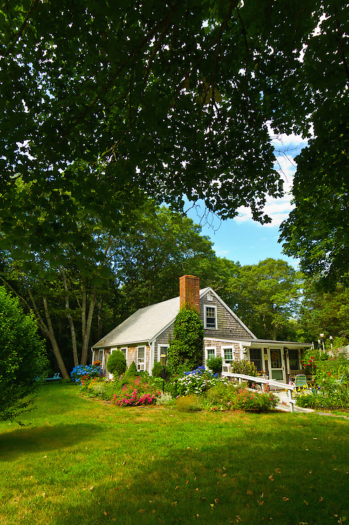 Cape Cod style house, Orleans, Cape Cod, Massachusetts, USA