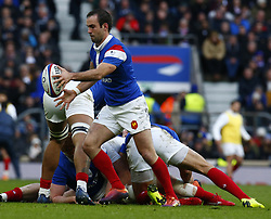 February 10, 2019 - London, England, United Kingdom - Morgan Parra of France.during the Guiness 6 Nations Rugby match between England and France at Twickenham  Stadium on February 10th, 2019 in Twickenham, London, England. (Credit Image: © Action Foto Sport/NurPhoto via ZUMA Press)