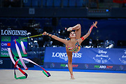 Zhao Yating was born in may 12, 2001 in Shanxi, she is a Chinese individual rhythmic gymnast.<br />