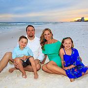 Cunningham Family Beach Photos -2018