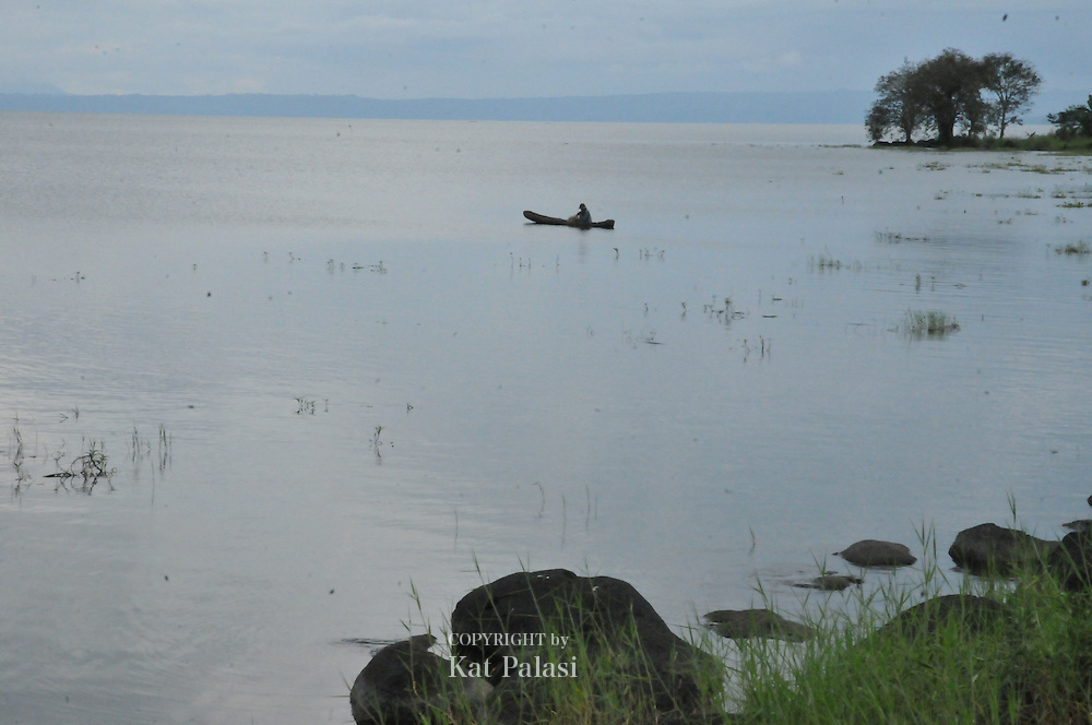 Lanao Lake as viewed from Tuca, Marawi City,Lanao del Norte.