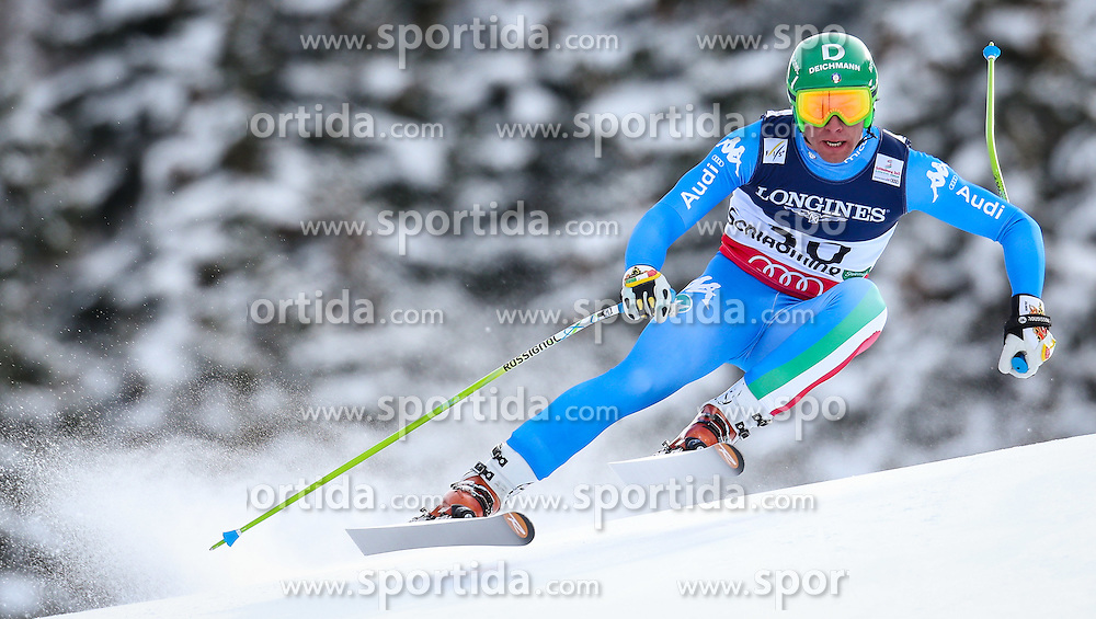 11.02.2013, Planai, Schladming, AUT, FIS Weltmeisterschaften Ski Alpin, Super Kombination, Abfahrt, Herren, im Bild  Matteo Marsaglia (ITA) // Matteo Marsaglia of Italy  in action during Mens Super Combined Downhill at the FIS Ski World Championships 2013 at the Planai Course, Schladming, Austria on 2013/02/11. EXPA Pictures © 2013, PhotoCredit: EXPA/ Johann Groder