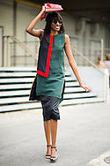 Green and Red, Outside Dries van Noten