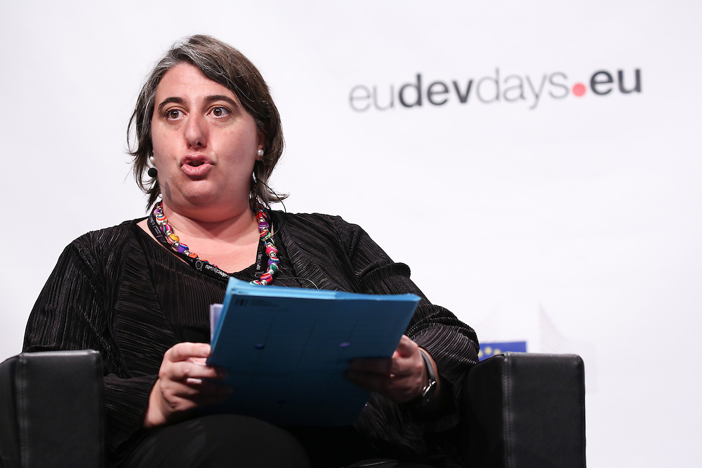 20160616 - Brussels , Belgium - 2016 June 16th - European Development Days - An economy for the 1 Percent - Maria Shaw-Barragan , Deputy Director, Operations in Africa, Caribbean, Pacific, Asia and Latin America European Investment Bank © European Union
