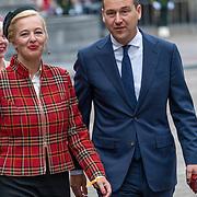 NLD/Den Haag/20190917 - Prinsjesdag 2019, Lodewijk Asscher en partner Jildau Piena