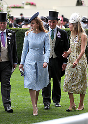 Princess Beatrice of York during day one of Royal Ascot at Ascot Racecourse.